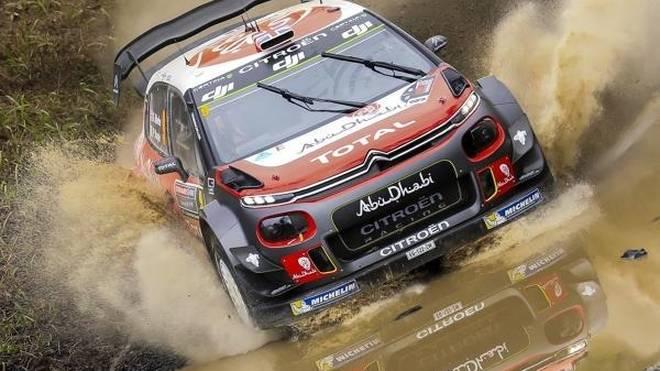 Kris Meeke dominiert den Shakedown der WRC-Rallye Frankreich
