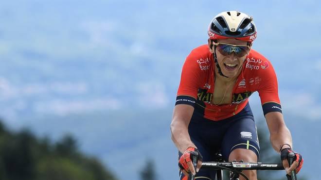 Dylan Teuns ist neuer Gesamtführender der Vuelta