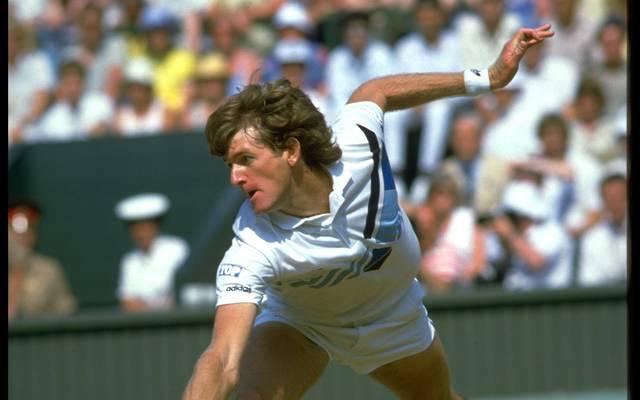 Kevin Curren verlor 1985 das Wimbledon-Finale gegen Boris Becker