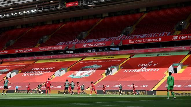 Das Anfield-Stadion wird zum Corona-Testzentrum