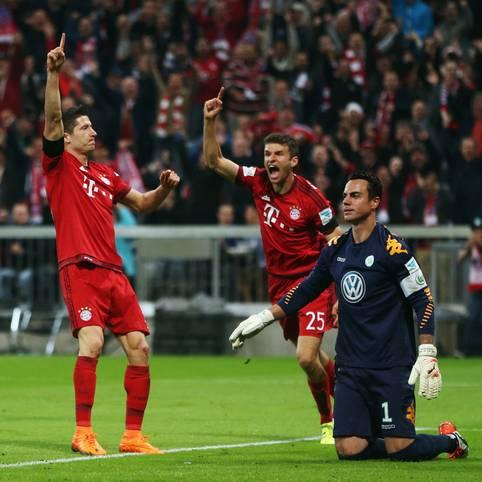 Robert Lewandowski und Thomas Müller - dank der beiden Goalgetter läuft die Tormaschine des FC Bayern auch in dieser Saison wieder auf Hochtouren