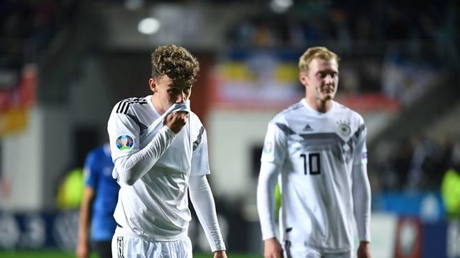 Luca Waldschmidt (l.) und Julian Brandt blieben in Estland blass