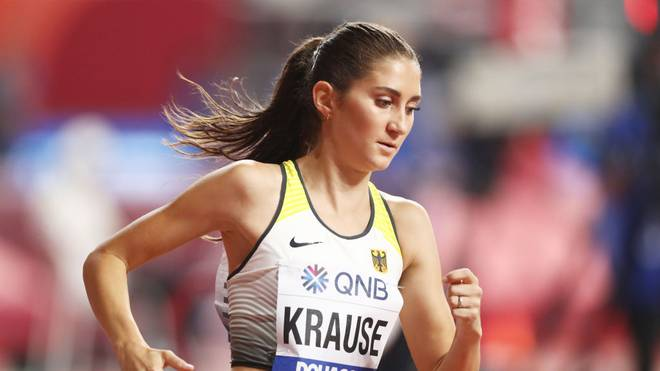 Gesa Felicitas Krause sorgt für die erste Medaille des DLV bei der WM in Doha