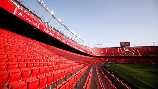 Der FC Sevilla muss einen Corona-Fall vermelden