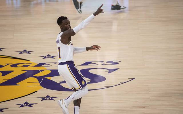 Die Los Angeles Lakers um Dennis Schröder verlieren gegen Utah