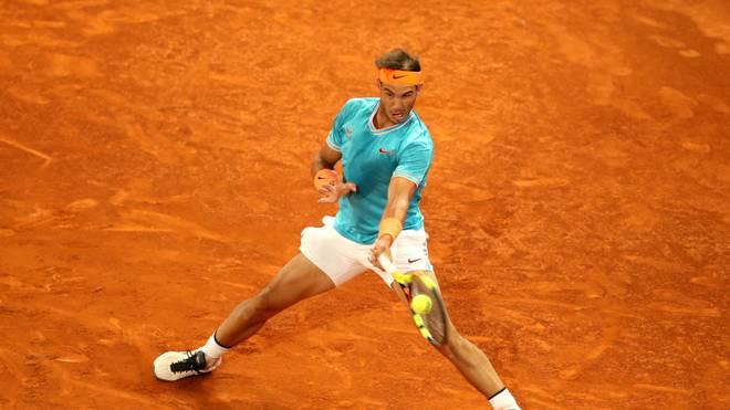 Rafael Nadal muss auf sein Heimspiel in Madrid verzichten