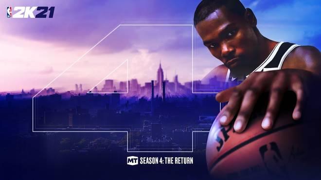 Vergangenen Freitag hat die vierte Saison des NBA-2K21-MyTeam-Modus begonnen