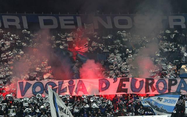 Die Anhänger des Serie A-Klubs Atalanta Bergamo sind für ihre Ausfälle berüchtigt