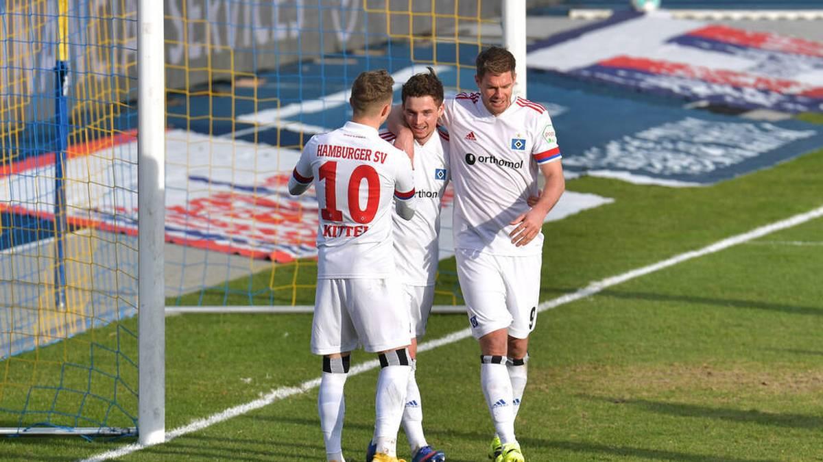 Der Hamburger SV bekommt es mit Fortuna Düsseldorf zu tun