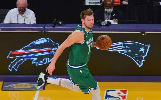 Luka Doncic unterlag mit den Dallas Mavericks