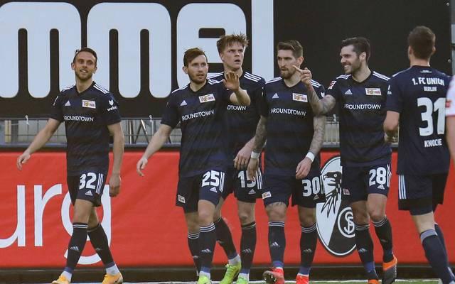 Union Berlin klettert durch den Sieg in Freiburg am SC vorbei