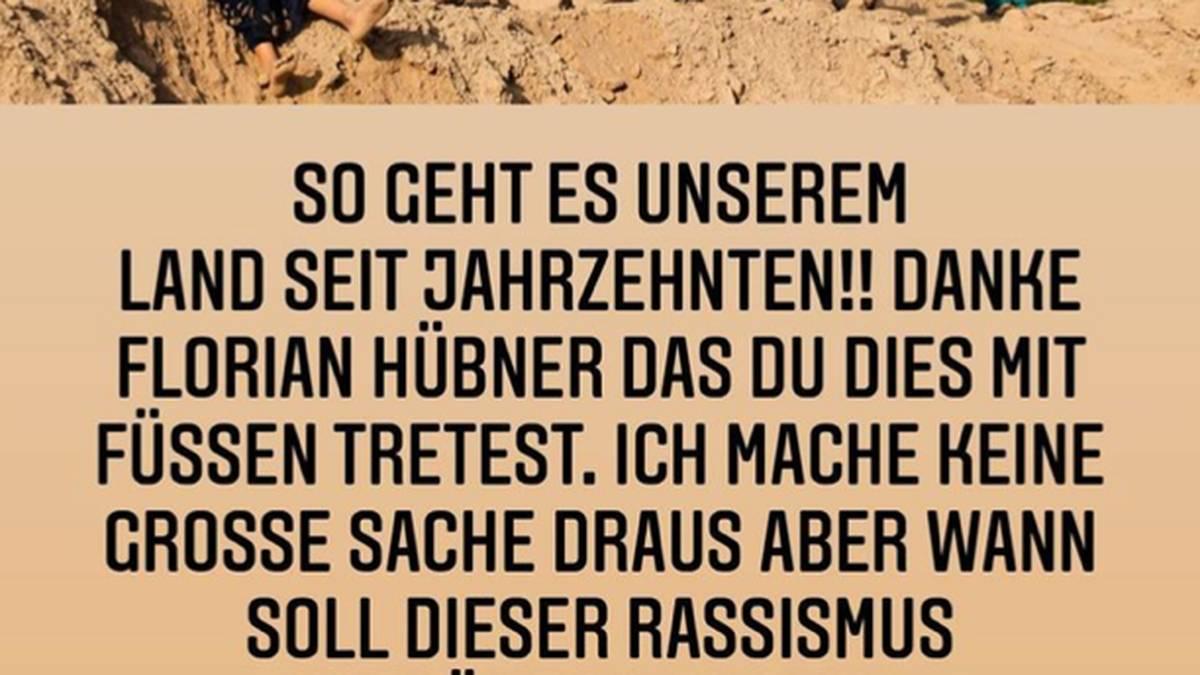 Nauwid Amiri wendet sich erneut via Instagram an Florian Hübner