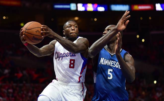 Nate Robinson im Trikot der Los Angeles Clippers