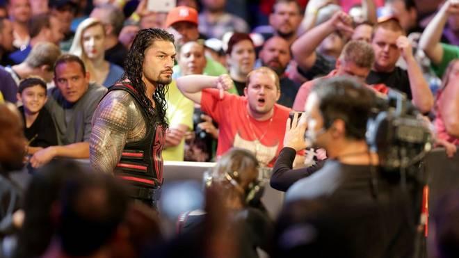 Undertaker-Bezwinger Roman Reigns wurde bei WWE RAW von den Fans niedergemacht