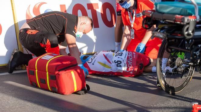 Fabio Jakobsen stürzte bei der Polen-Rundfahrt schwer