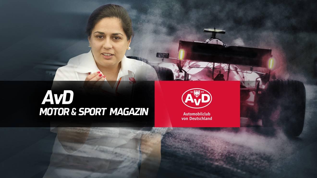 Monisha Kaltenborn ist zu Gast im AvD Magazin