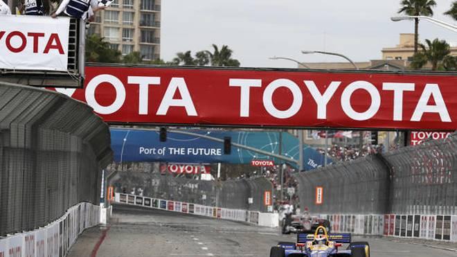 Alex Rossi gewann 2018 den letzten Long-Beach-Grand-Prix der Toyota-Ära