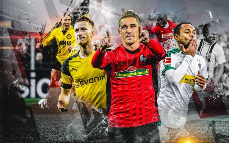 Nils Petersen hat ein Stück Klubgeschichte für den SC Freiburg geschrieben: Er erzielte in Mainz sein 84. Pflichtspieltor für den SC und toppte damit den Vereinsrekord von Joachim Löw. SPORT1 zeigt die Rekord-Torjäger aller 18 Bundesliga-Teams