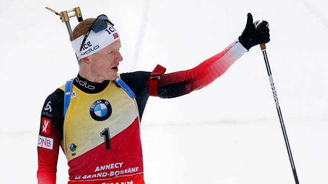 Johannes Thingnes Bö läuft in Pokljuka wieder