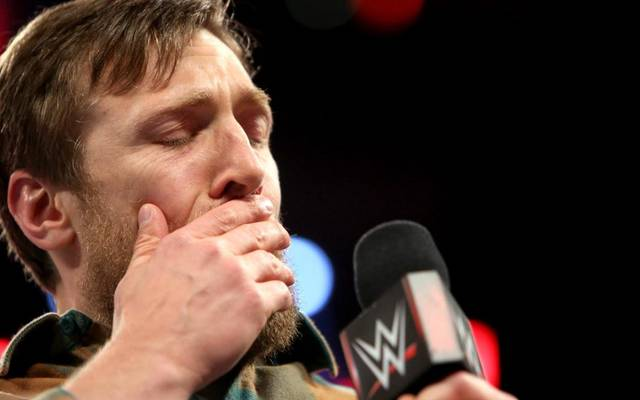 Daniel Bryan verkündete 2016 unter Tränen seinen WWE-Rücktritt
