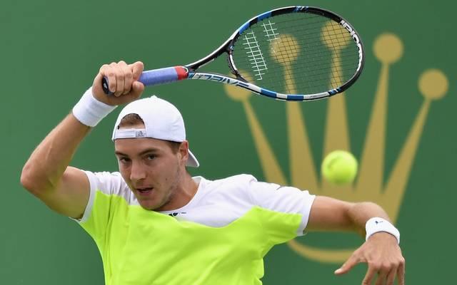 Jan-Lennard Struff ist der dritte Deutsche im Wien-Viertelfinale