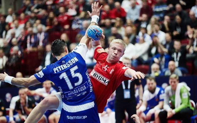 Dänemark strauchelte gegen Island
