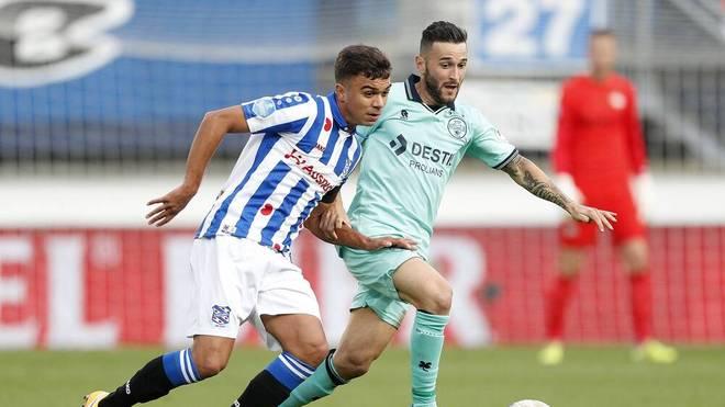 Oliver Batista Meier ist vom FC Bayern an den SC Heerenveen ausgeliehen und entwickelt sich dort zum Schlüsselspieler