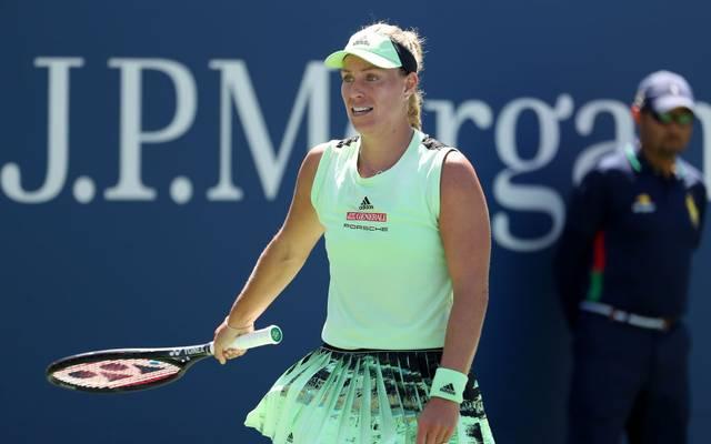 Angelique Kerber verlor gegen Kristina Mladenovic