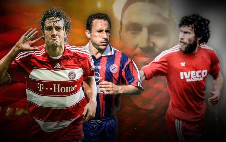 Der Name Zlatan Ibrahimovic schwebt in diesem Sommer über Europas Topklubs. Auch der FC Bayern hat dem Vernehmen nach mit ihm gesprochen. Ein Wechsel des Schweden zum Rekordmeister wäre ein Knaller, aber bei weitem nicht der erste. SPORT1 zeigt die Glamour-Transfers des FC Bayern