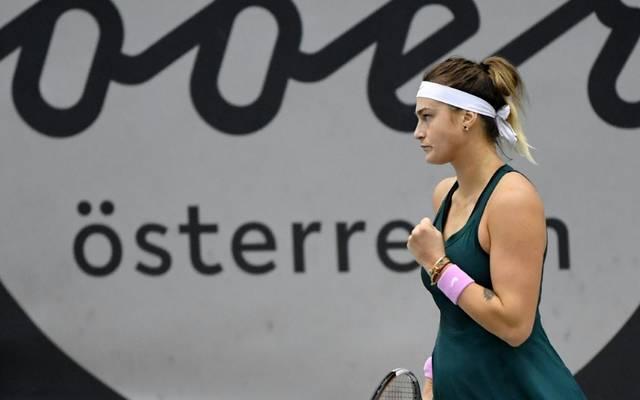 Aryna Sabalenka gewinnt das Turnier von Linz