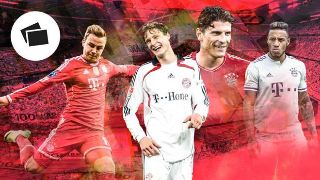 Marcell Jansen (2.v.l.) ist bis heute der teuerste Linksverteidiger in der Geschichte des FC Bayern