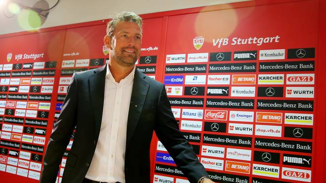 VfB Stuttgart - Press Conference With New Team Coach