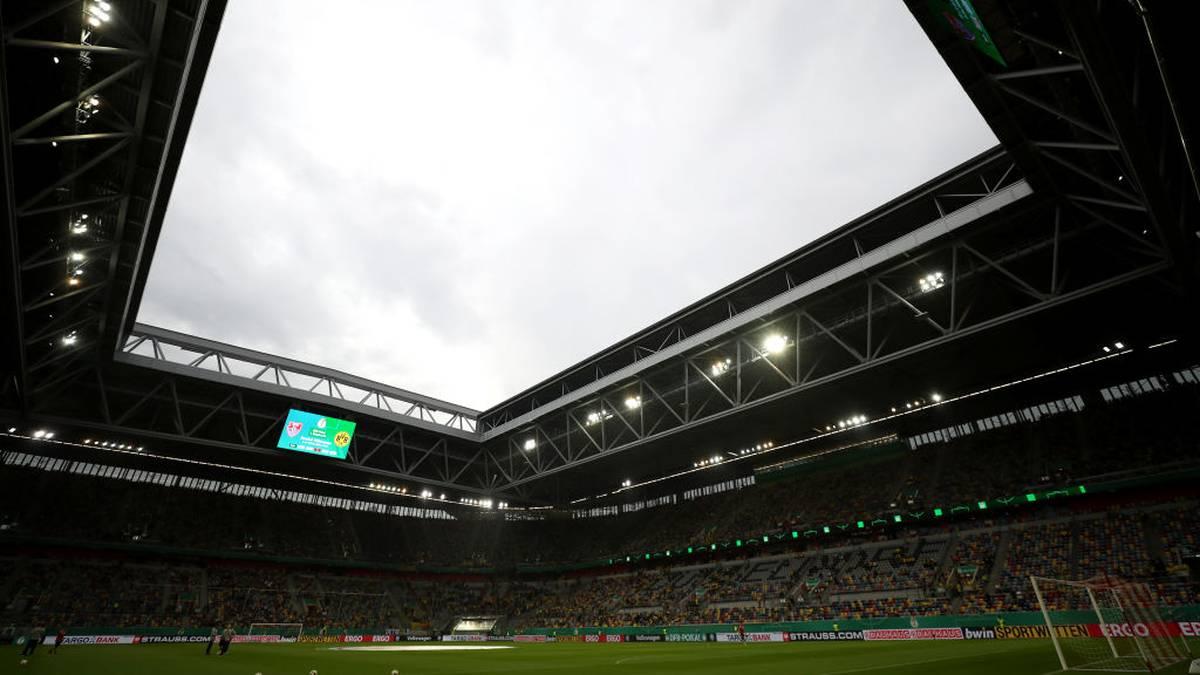 Die Arena in Düsseldorf wird am Freitagabend leer bleiben