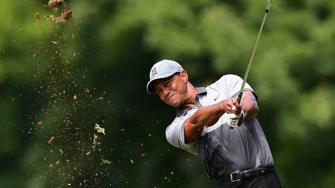 Tiger Woods beim Golf-Turnier in Greensboro
