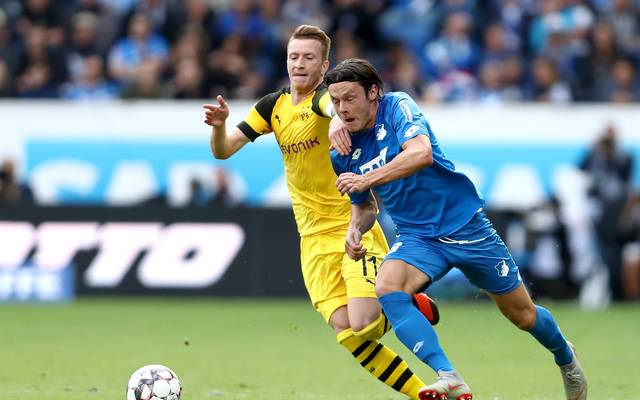 Nico Schulz (r.) läuft künftig gemeinsam mit Marco Reus auf