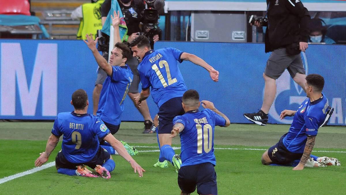 Italien feiert den Einzug ins EM-Viertelfinale