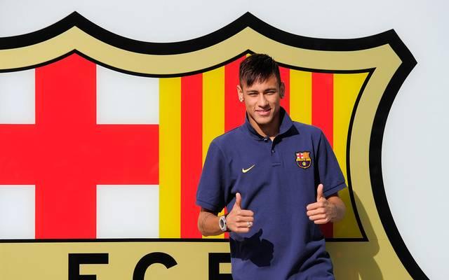 Neymars Wechsel zum FC Barcelona hat immer wieder für Ärger gesorgt