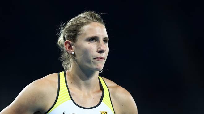 Carolin Schäfer gewann bei der WM in London die Silbermedaille