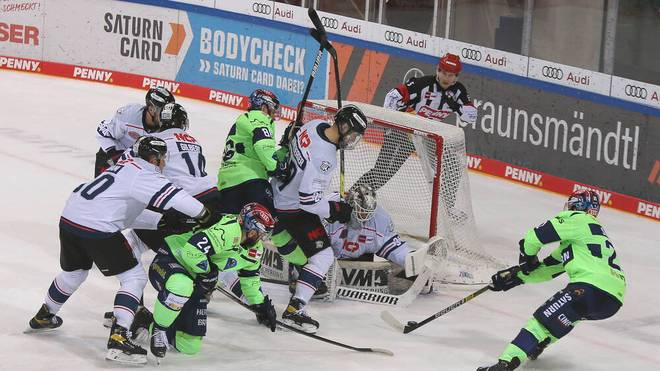 Die Nürnberg Ice Tigers und der ERC Ingolstadt sind am Sonntag LIVE auf SPORT1 zu sehen