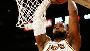 LOS ANGELES, CALIFORNIA - DECEMBER 01:  LeBron James #23 of the Los Angeles Lakers dunks the ball during the second half against the Dallas Mavericks at Staples Center on December 01, 2019 in Los Angeles, California. NOTE TO USER: User expressly acknowledges and agrees that, by downloading and or using this photograph, User is consenting to the terms and conditions of the Getty Images License Agreement. (Photo by Katharine Lotze/Getty Images)