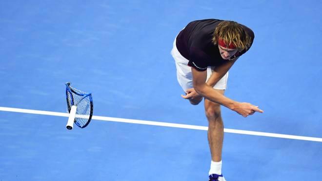 Alexander Zverev unterlag im Halbfinale von Peking Nick Kyrgios