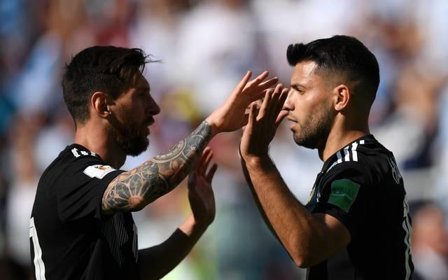 Lionel Messi und Sergio Kun Agüero führen den argentinischen Kader für die Copa América an