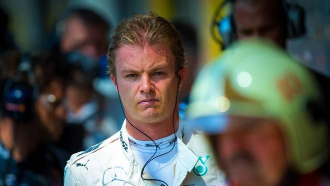 Für Nico Rosberg reichte es in Budapest nur zum achten Rang
