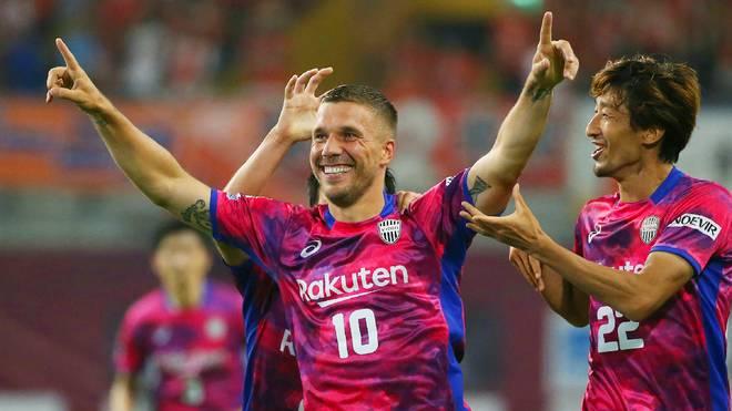 Lukas Podolski spielt derzeit bei Vissel Kobe in Japan
