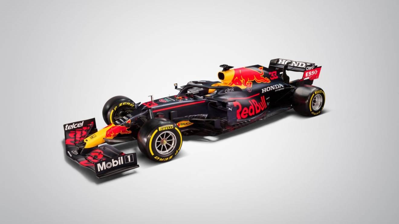 So schaut er aus: Der neue Bolide von Red Bull für die anstehende Formel-1-Saison