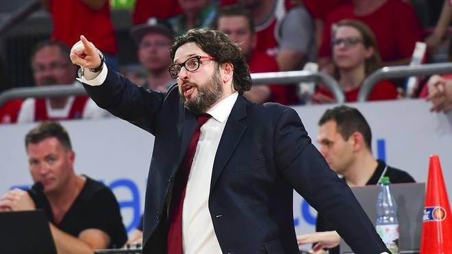 Andrea Trinchieri ist nicht mehr Trainer von Brose Bamberg