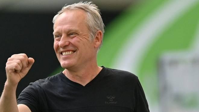 Nächster Sieg für Freiburg und Trainer Streich