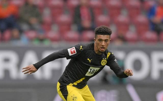 Jadon Sancho fehlte beim BVB im Supercup gegen Bayern