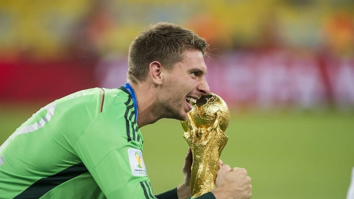 Ron-Robert Zieler gewann 2014 mit der deutschen Nationalmannschaft die Weltmeisterschaft