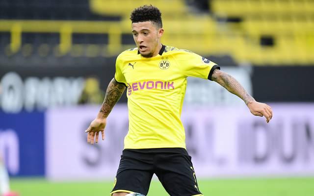 Jadon Sancho ist der Topscorer beim BVB